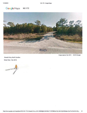 1541 HIGHWAY 172, Sneads Ferry, NC 28460