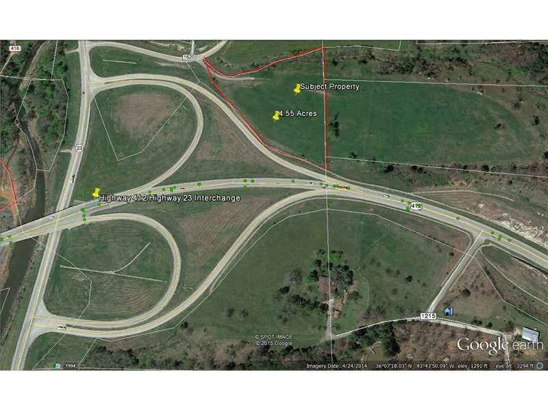 4.55 Acres Hwy 412 ., Huntsville, AR 72740