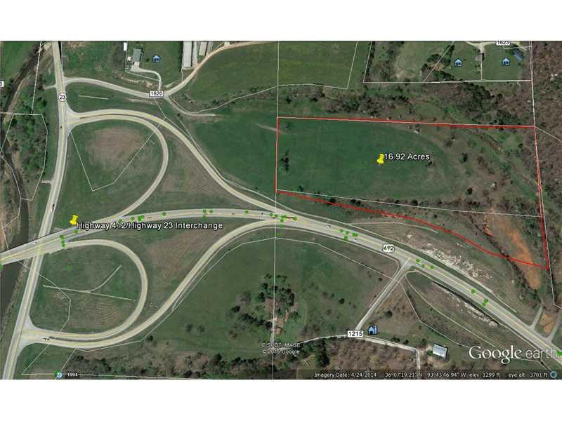 16.92 Acre Hwy 412 ., Huntsville, AR 72740