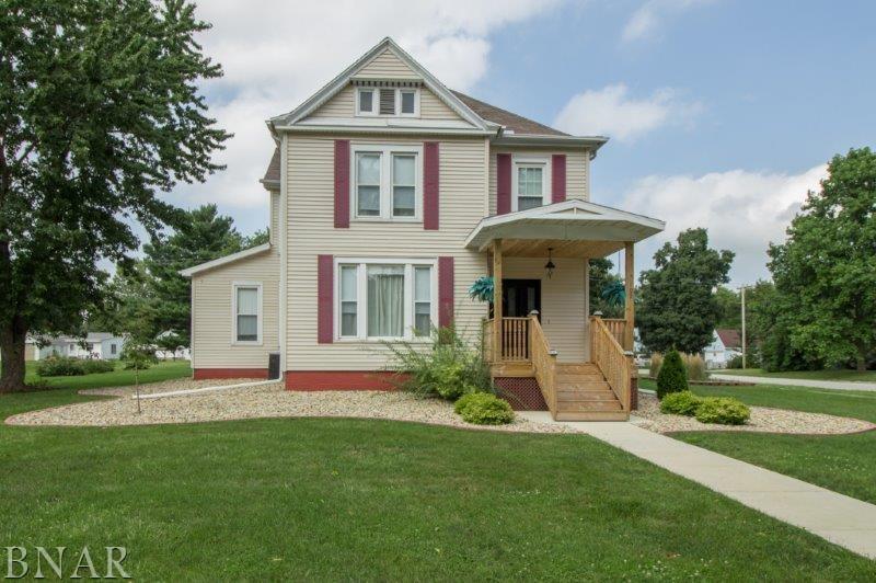 102 W Fifth, Gridley, IL 61744