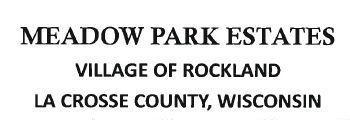 LOTS MEADOW PARK EST, Rockland, WI 54653
