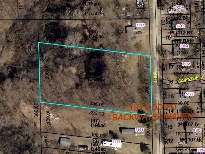 0 925 E. (1.79 A), North Webster, IN 46555