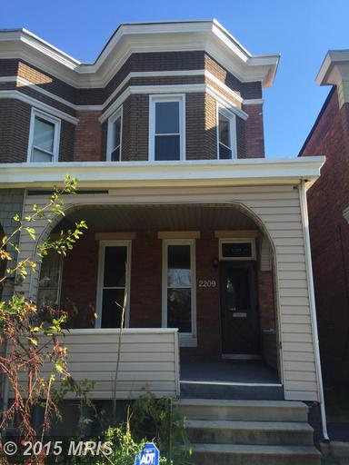 2209 Mount Holly Street, Baltimore, MD 21216