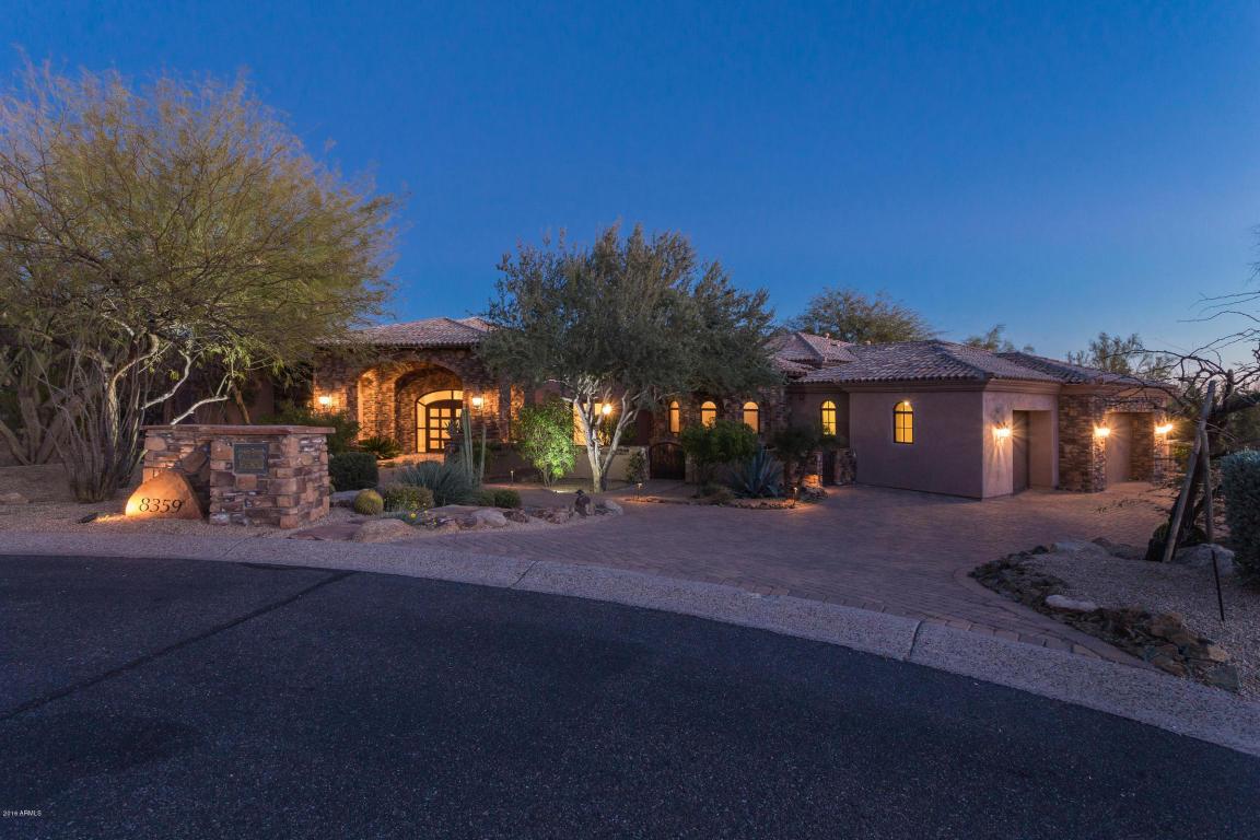 8359 E Overlook Drive, Scottsdale, AZ 85255