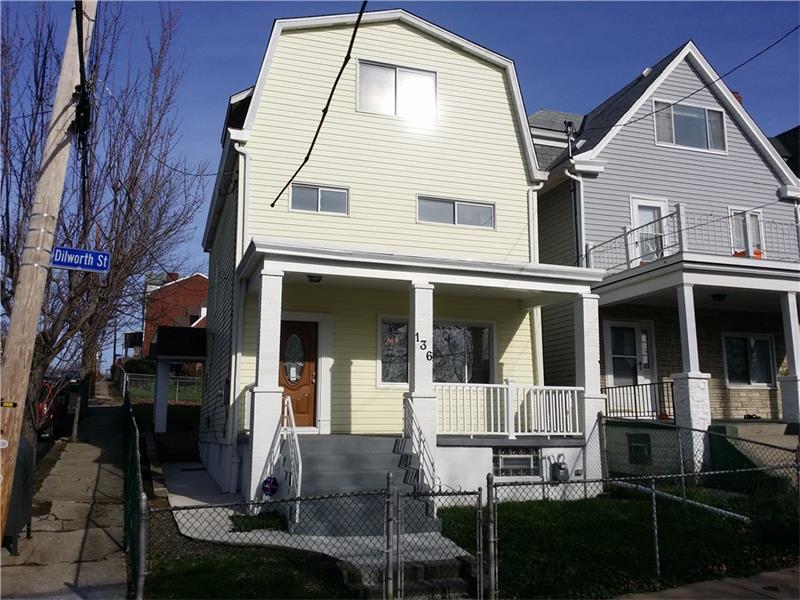 136 Dilworth Street, Mt Washington, PA 15211