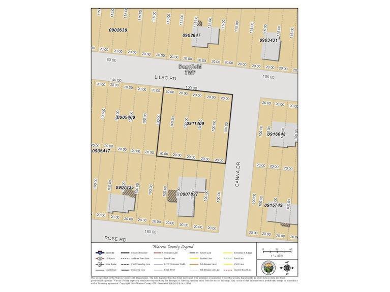 0 Lilac Road, Deerfield Twp., OH 45140