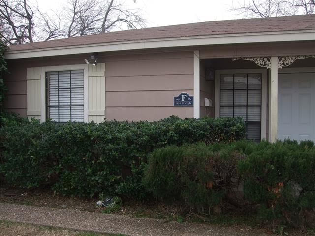 320  Ralph Street  #, White Settlement, TX 76108