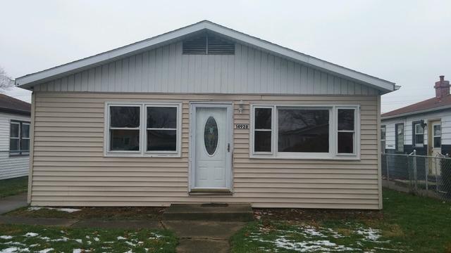 14928 South Richmond Avenue, Posen, IL 60469