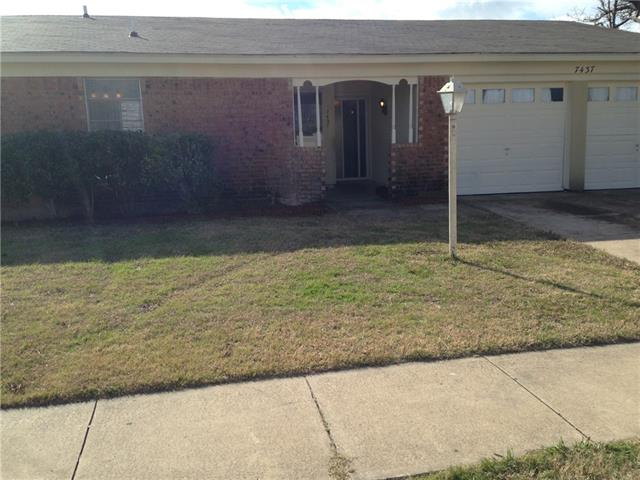 7437  Darien Street, Fort Worth, TX 76140