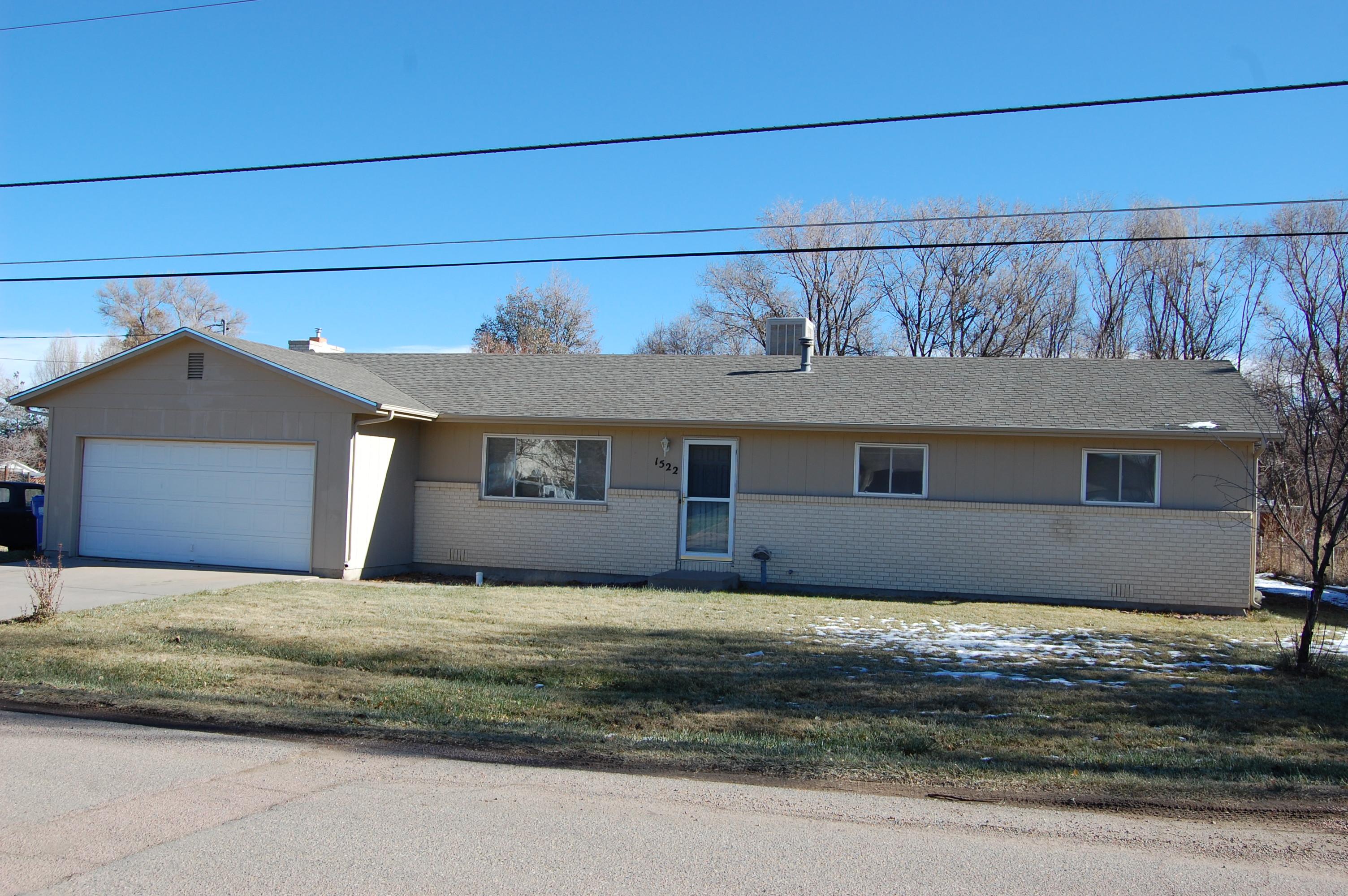 1522 Logan Street, Canon City, Colorado 81212