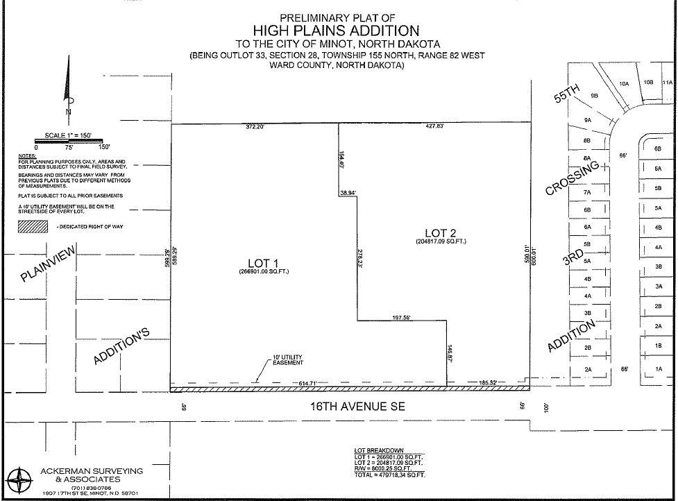 4650 16th Ave SE, Minot, North Dakota 58701