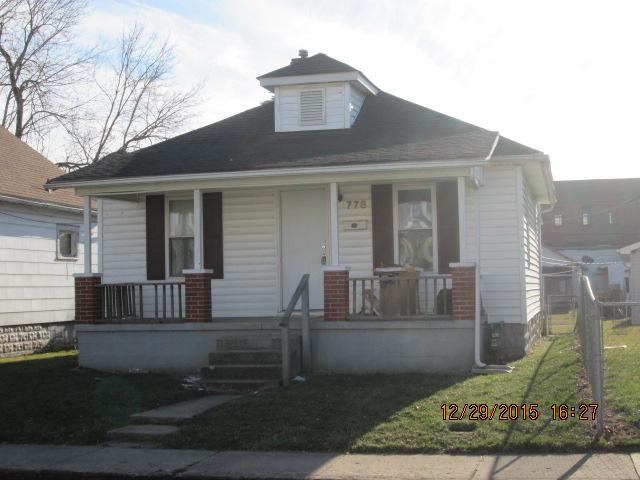 778 Adams Ave., Chillicothe, Ohio 45601