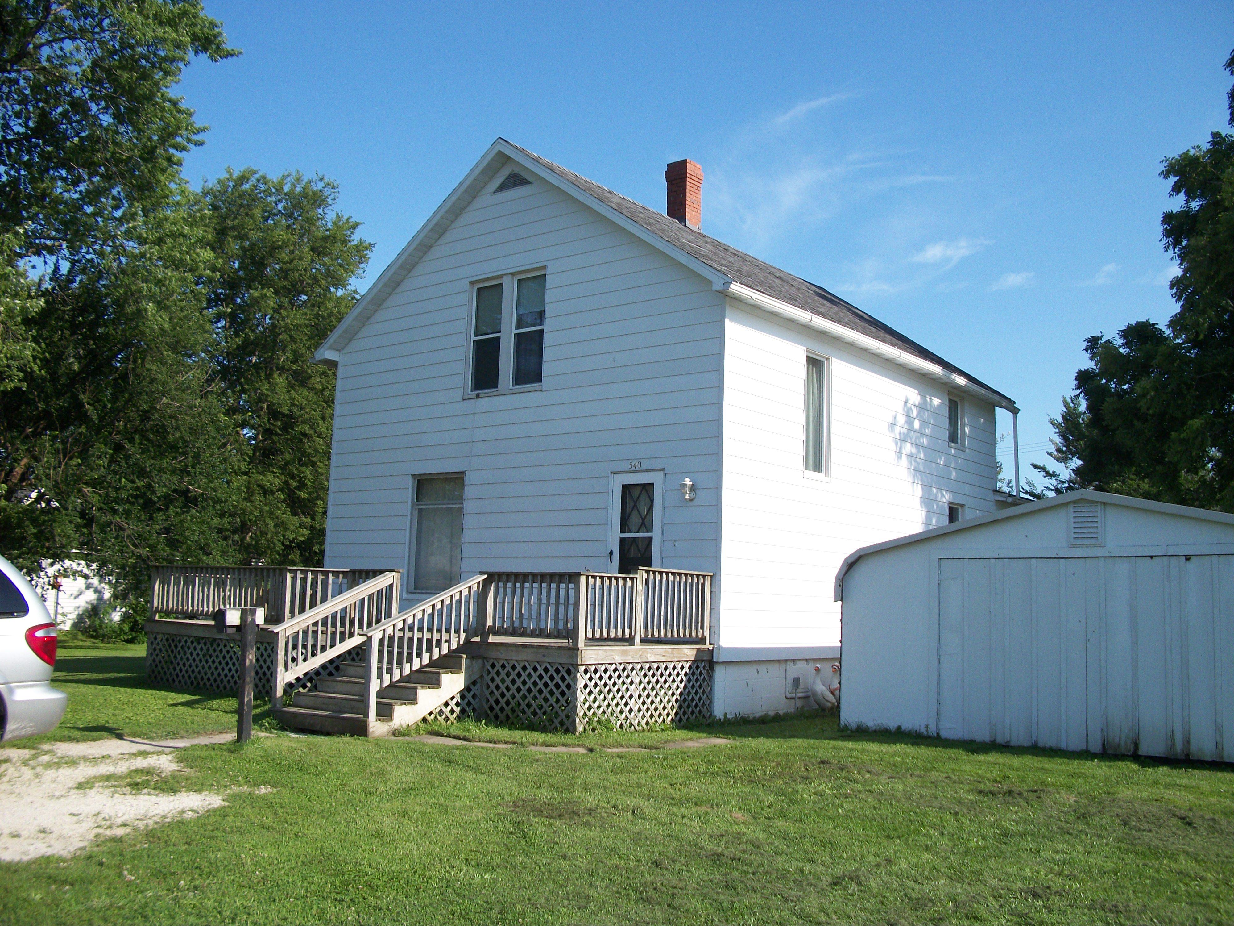 540 W Pine, Paxton, Illinois 60957