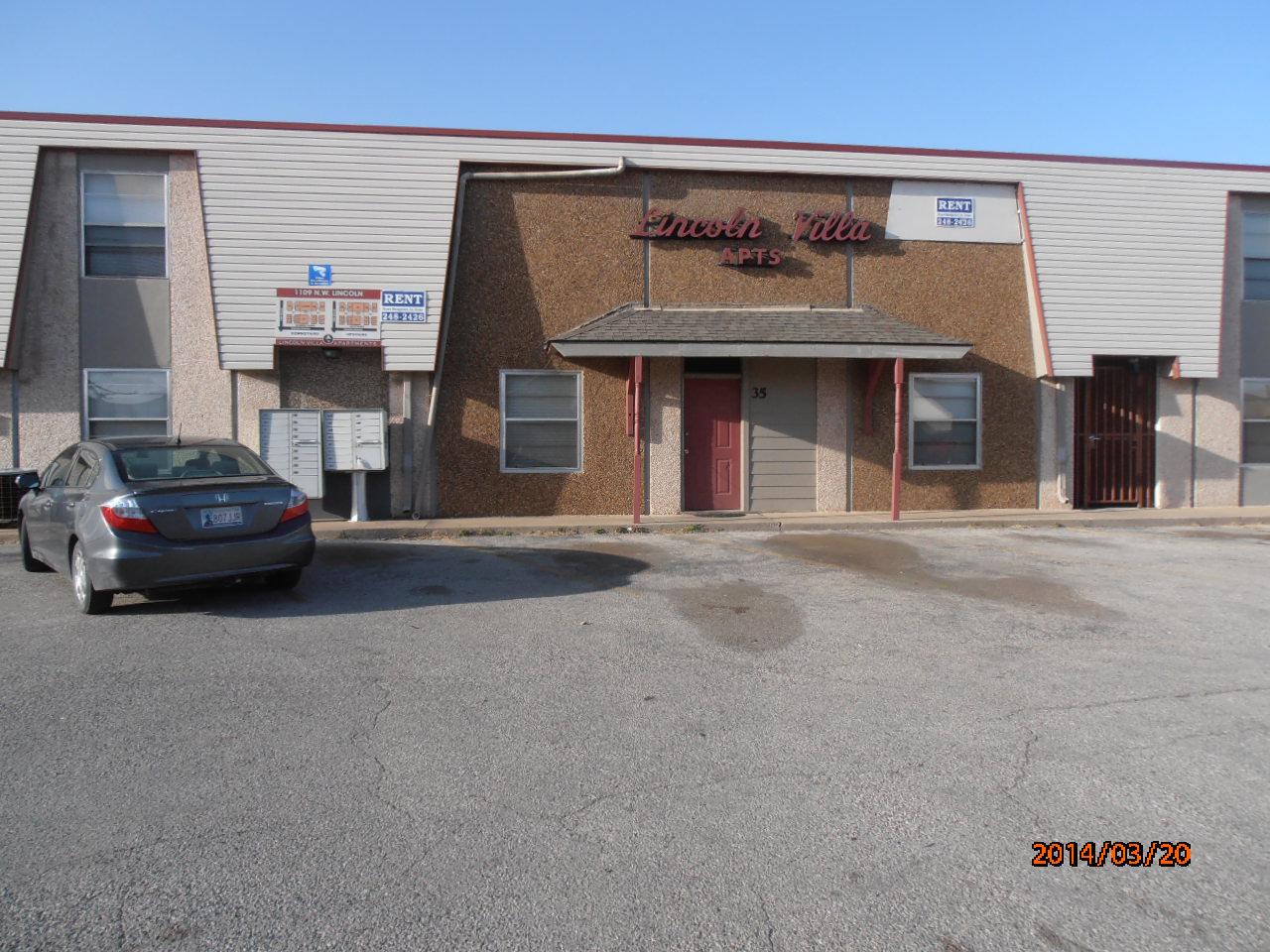 1109 NW Lincoln, Lawton, Oklahoma 73507