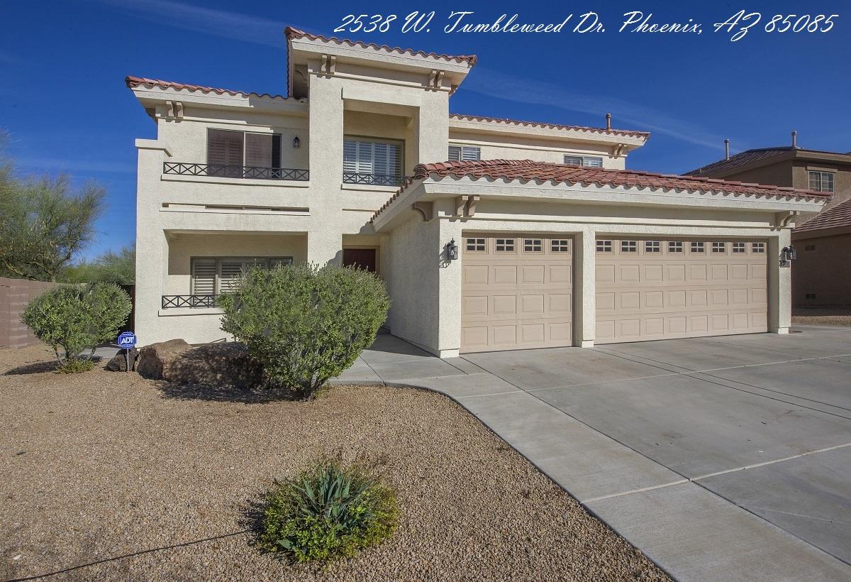 2538 W. Tumbleweed Dr., Phoenix, Arizona 85085