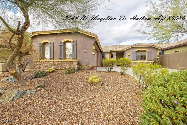 3544 W. Magellan Dr., Anthem, Arizona 85086