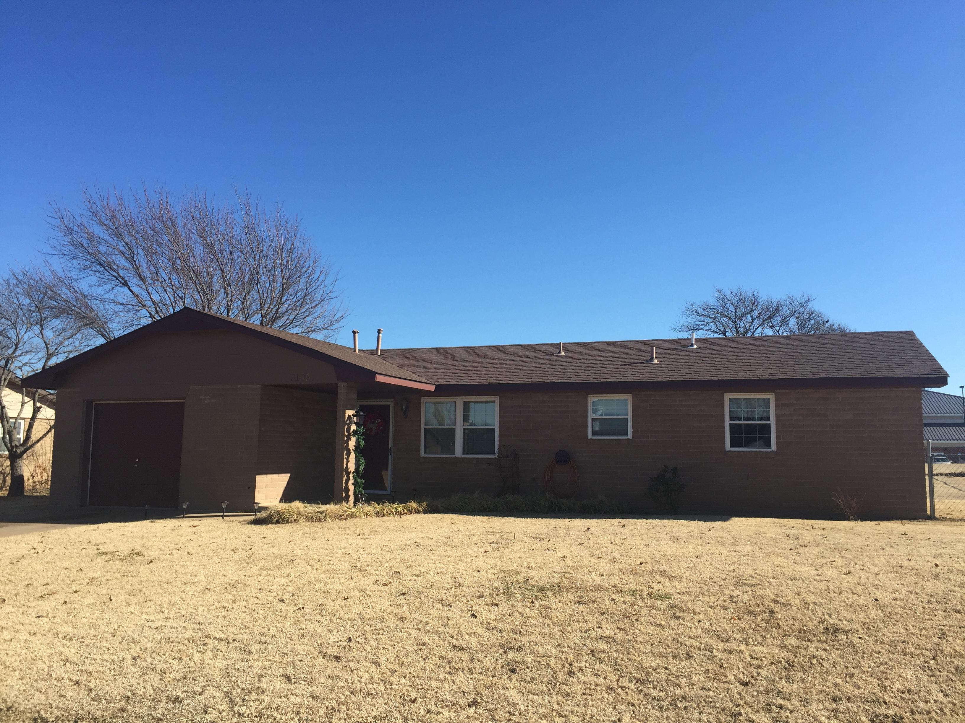 3105 El Camino, Ponca City, Oklahoma 74604