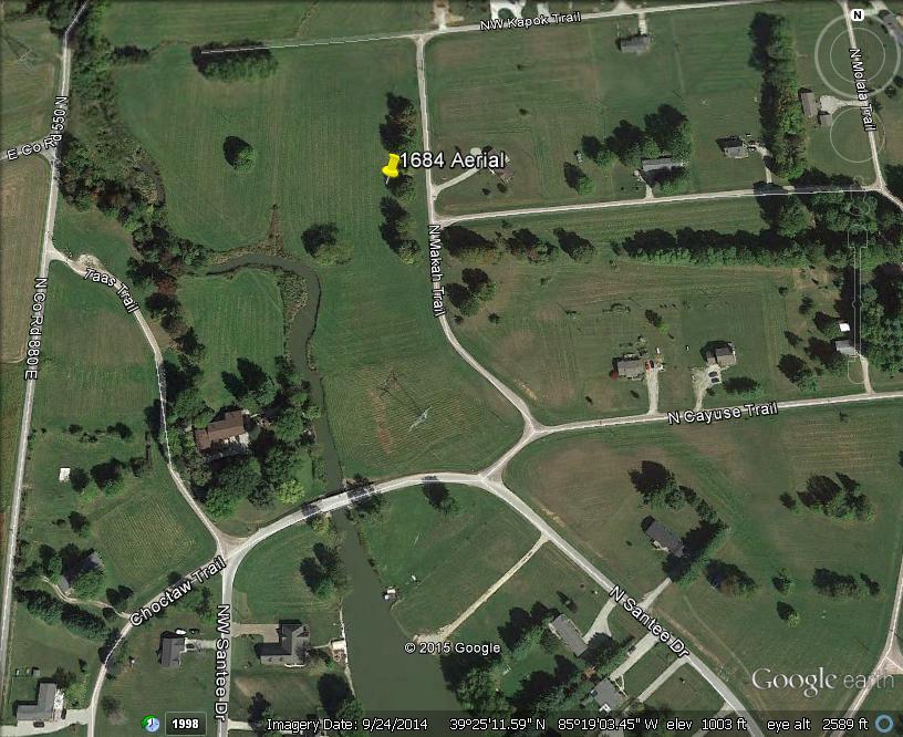 1684 N. Makah Tr., Greensburg, Indiana 47240