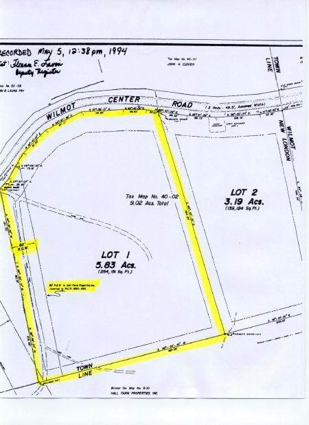 Wilmot Center Road, New London, New Hampshire 03257