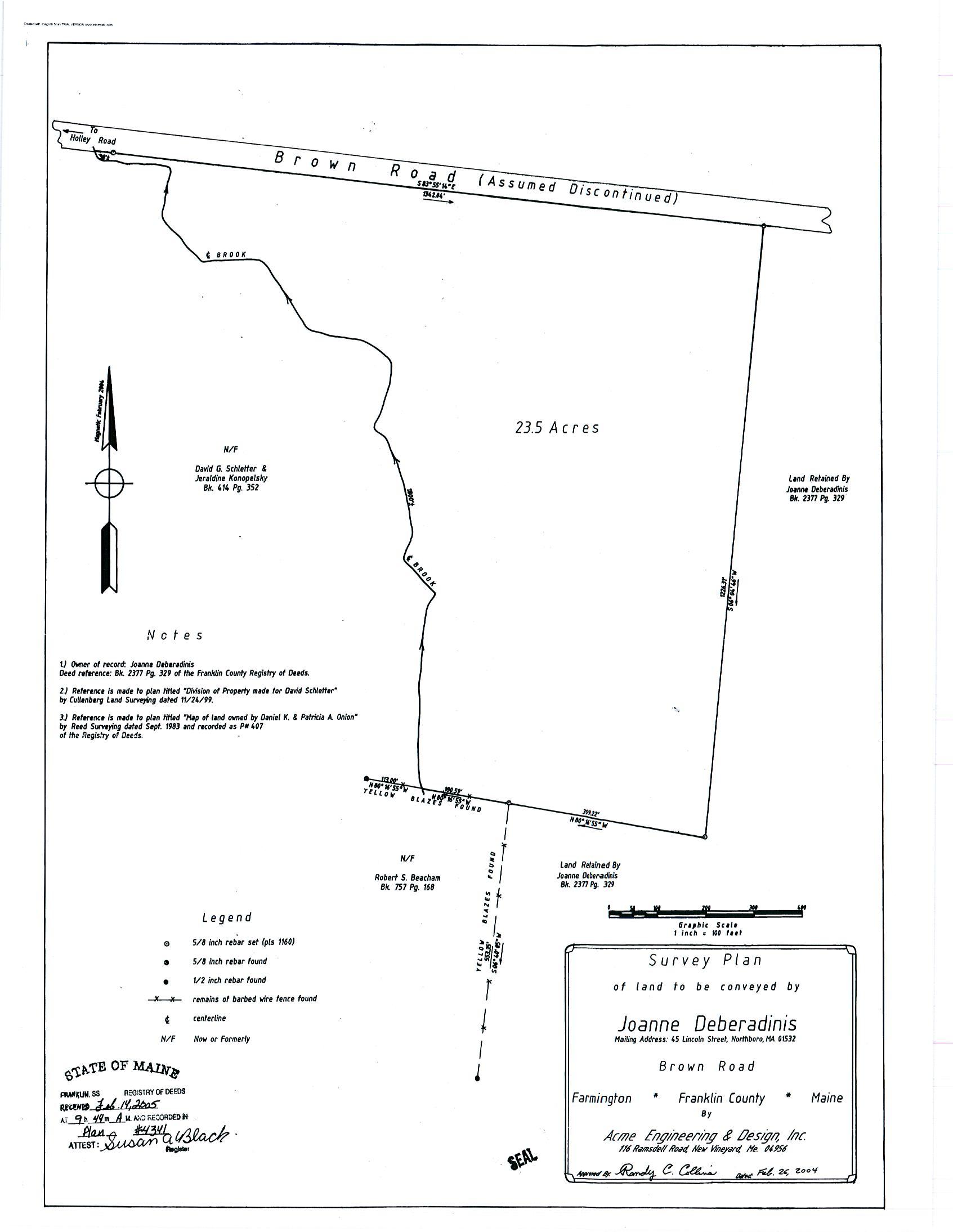 000 Brown Road, Farmington, Maine 04938