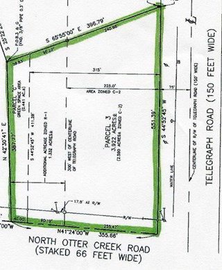 3 N. OTTER CREEK ROAD, Lasalle, Michigan 48145