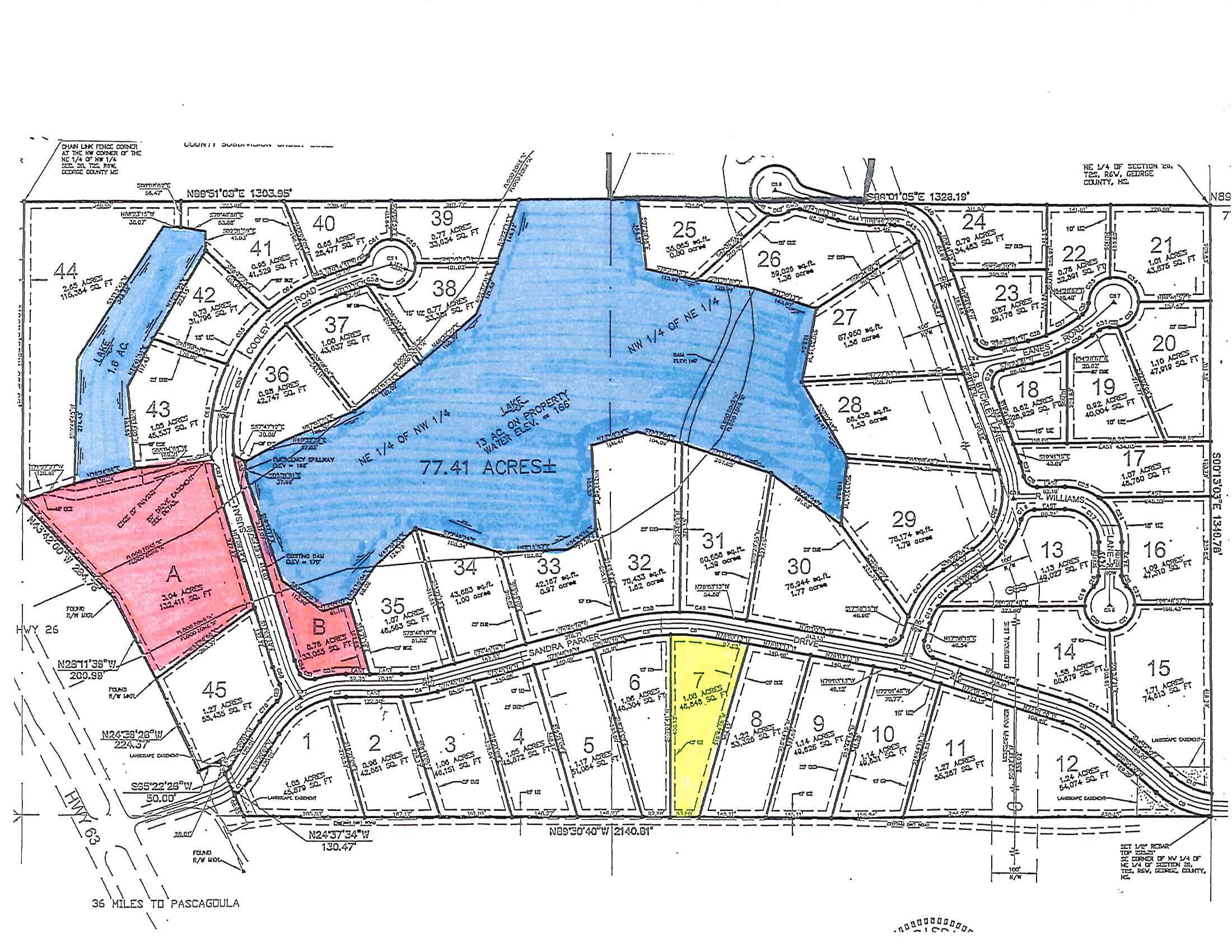 Lot 7 Sandra Parker Rd, Lucedale, Mississippi 39452