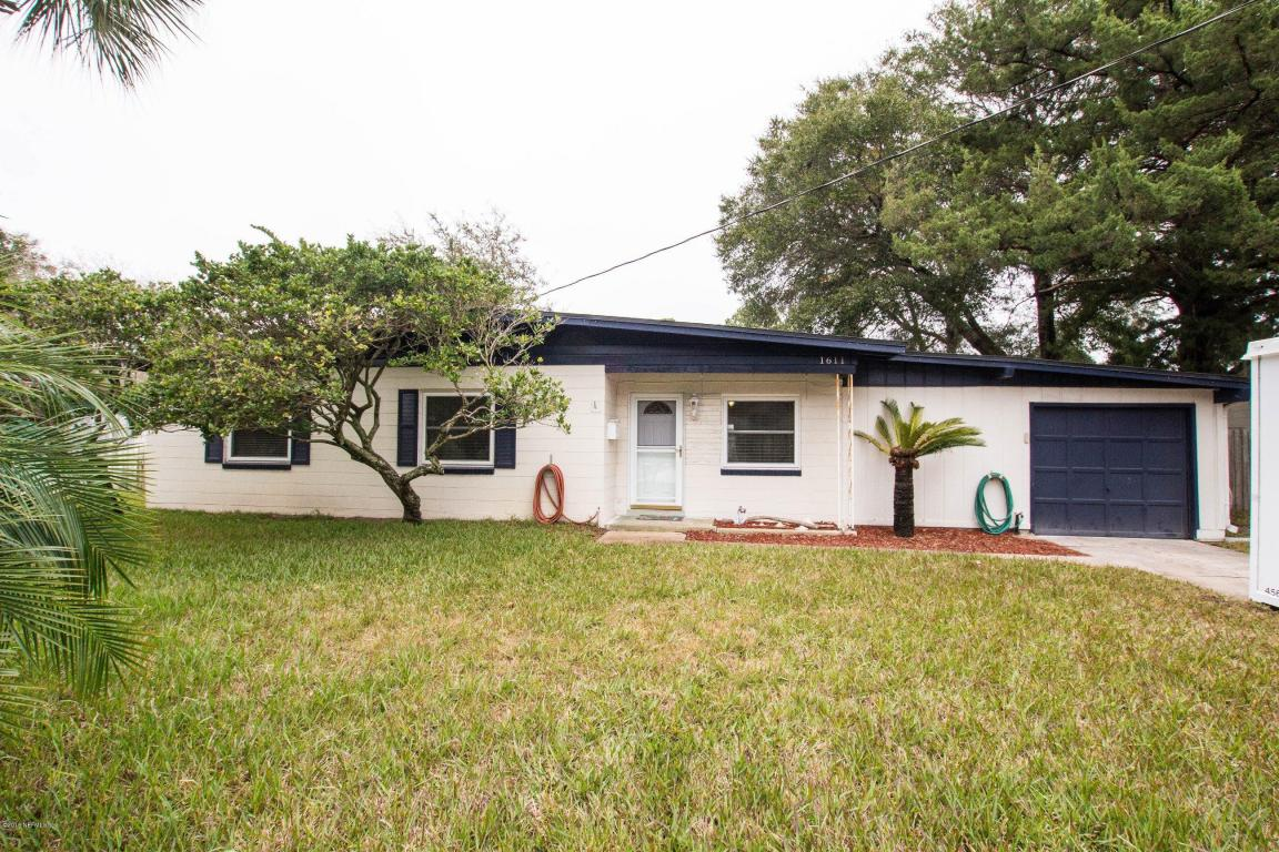 1611  Bentin Dr  S, Jacksonville Beach, FL 32250