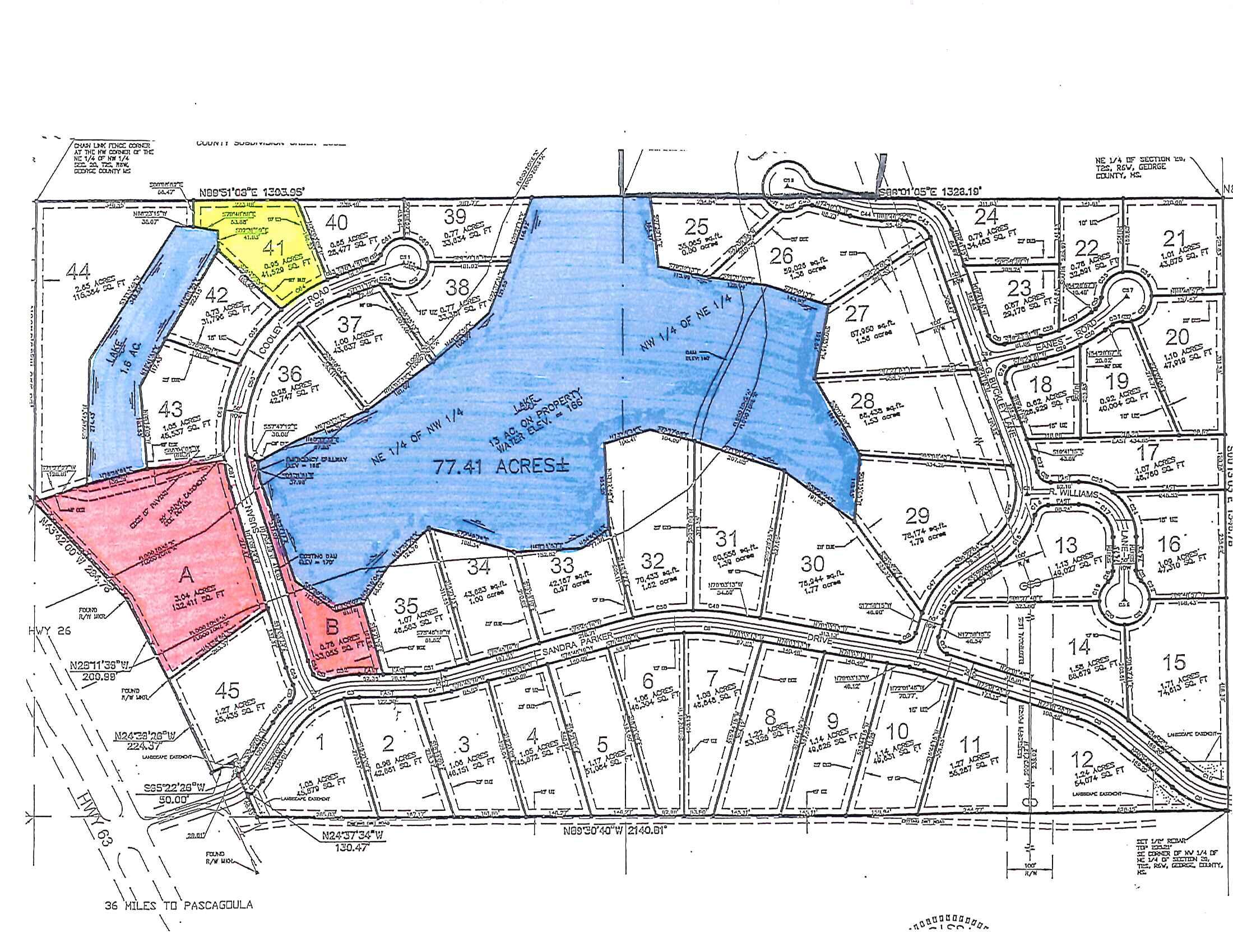 Lot 41 Susan Cooley Rd, Lucedale, Mississippi 39452