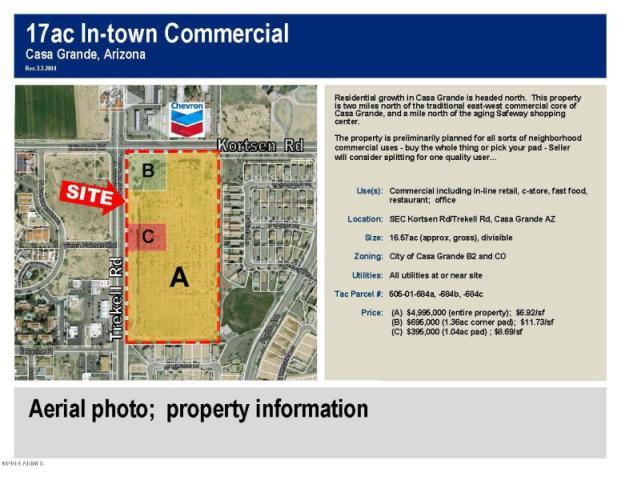 SEC  Trekell And Kortsen Rd, Casa Grande, AZ 85122