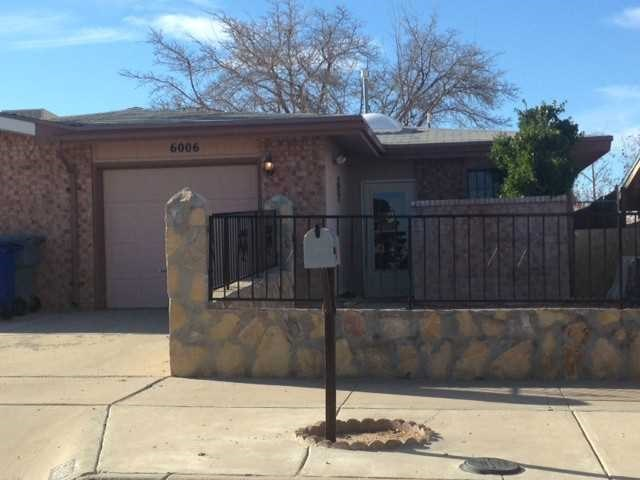 6006 MORNING GLORY Circle, El Paso, TX 79924