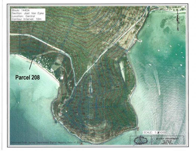 Parcel 208 White Bay, Jost Van Dyke, VGB